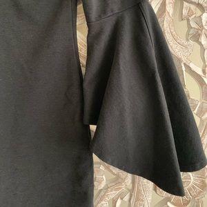 Fifteen Twenty Dresses - Bell Sleeve Black Dress